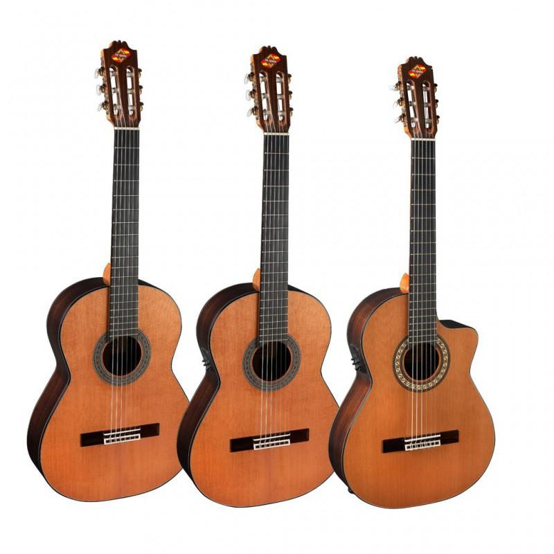Guitarra electrificada admira soledad e for Guitarra admira